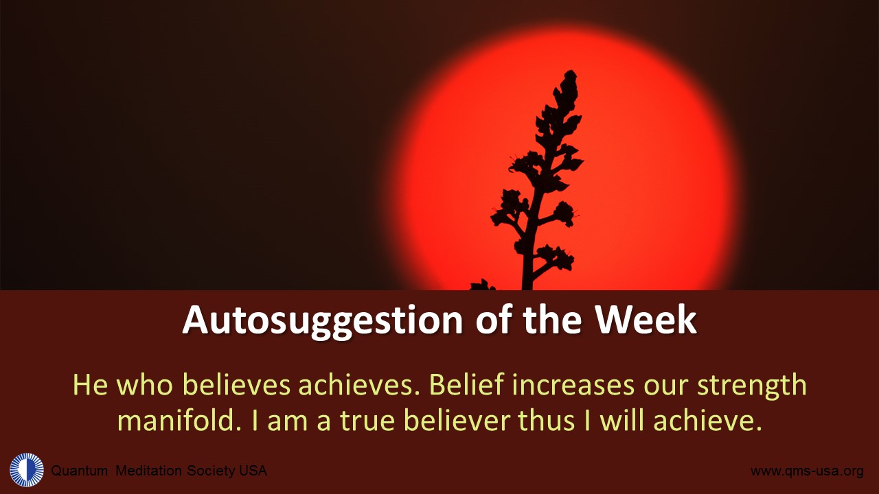 He who believes achieves. Belief increases our strength manifold. I am a true believer thus I will achieve